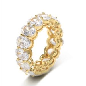 NWT gold plated ring